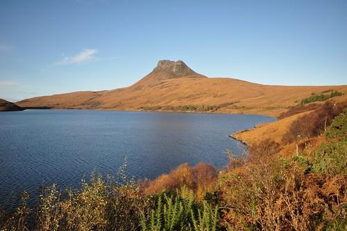 Stac Pollaidh across Loch Lurgainn