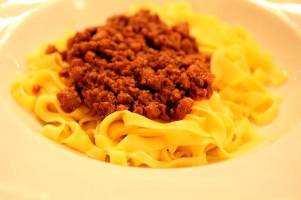 """Mitiche tagliatelle al ragù della """"Gigina"""", aka the best bolognese in the world"""