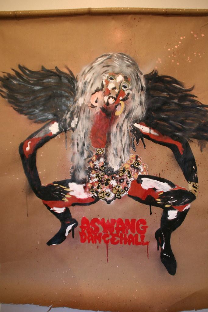 """Aswang Dancehall by Marlon Sagana Ingram - $400"