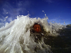 21/52. (norbography) Tags: camera selfportrait get wet water swim waves you explore how did frontpage 52weeks flickrshop culburrabeach 2009toddnorbury best2009 herogopro httpwwwgoprocameracomindexphparea2productid1