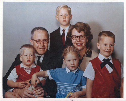 Jonathan, Grandpa, Randy, mom, Grandma, Brian