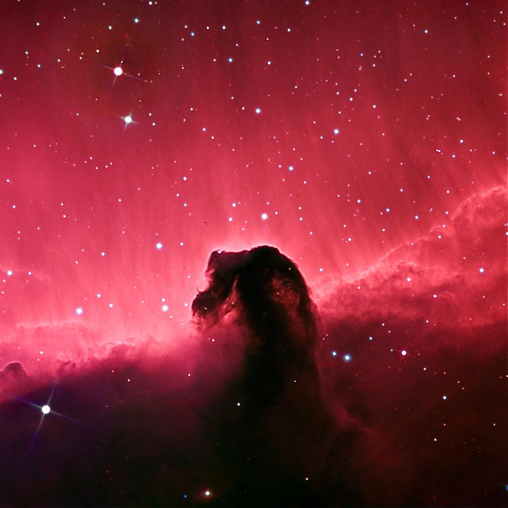 IC434 and Barnard 33 (horsehead) Ha-RGB