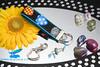 handmade key fob designer fabric michael miller (Papillons Boutique) Tags: handmade keyfobs michaelmiller hotpicks