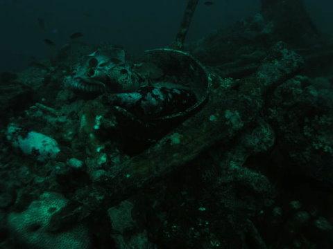 Helmet Wreck的酒瓶與鍋子