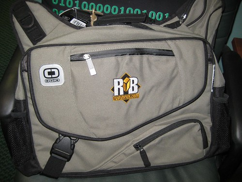 RustyBrick OGIO Messenger Bag (Eco Color)