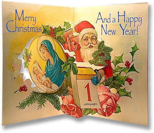 033-Tarjeta de Navidad para montar2-Crechemania.com