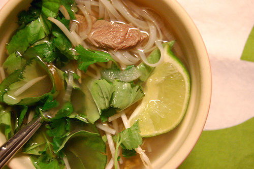 Vietnamese Soup with Pho