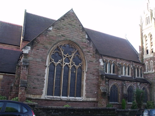 Calvary Church of God in Christ (formerly the Baptist Church) on Oxford Road in Moseley