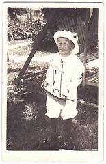 boy in sailor suit with pond yacht (oldsailro) Tags: park old boy sea summer people sun lake playing beach water pool girl sunshine youth sailboat race vintage children fun toy boat miniature photo wooden pond model waves sailing ship child time yacht antique group boom suit mat regatta sailor hull spectators watercraft adolescence keel fashioned