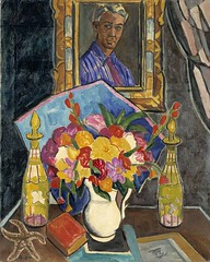 Myself in the Mirror ca. 1926 Oliver Chaffee Born- Detroit, Michigan 1881 Died- Asheville, North Carolina 1944 oil on canvas 36 x 29 in. (91.4 x 73.6 cm) Smithsonian American Art Museum (renzodionigi) Tags: portrait painting design engraving autoritratto ritratto arts fine selfportrait