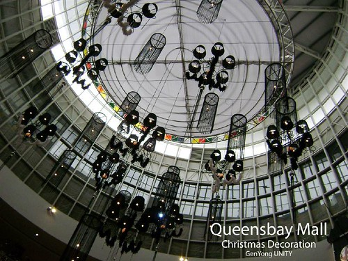 Queensbay Mall Christmas Decoration