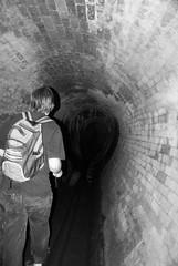 Darkie (Peter___V) Tags: urban storm water underground flood ben pipes brisbane drain exploration sewer darkie