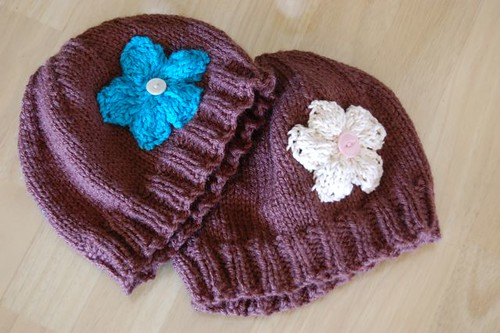 flower power hats