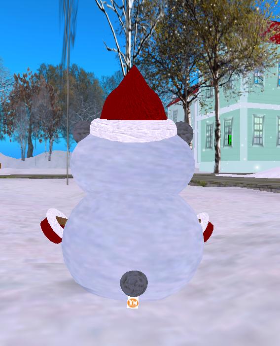 YDRM_Free! tiny snowman back