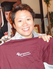 Tina with RHR logo