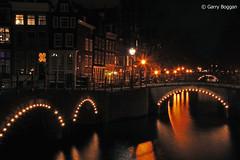 Amsterdam Canals [N037] (GarryBoggan) Tags: nightphotography holland amsterdam keizersgracht reguliersgracht nikond40