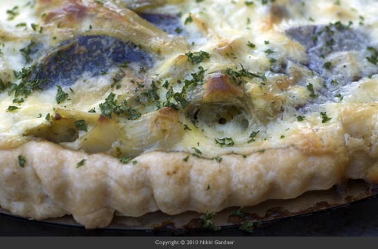 potato leek tart 2