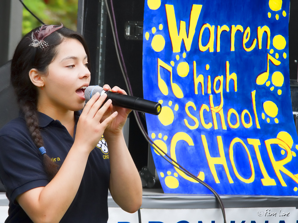 Downey Street Fair Warren choir