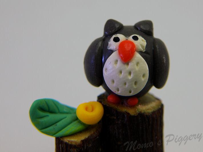 Bolly - owl magnet