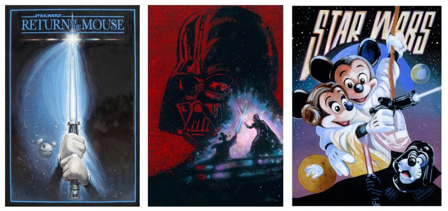 Original Star Wars Weekends Artwork