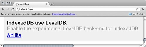 IndexedDB use LevelDB