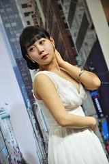 - LEE Yumi (KRWonders) Tags: show sexy girl photo model korea racing exhibition korean lee seoul imaging yumi promotional coex 2011   krwonders