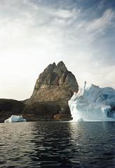 940721 Leaving UUmmannaq (rona.h) Tags: july arctic greenland 1994 cloudnine ronah uummannaq upernavik vancouver27 bowman57