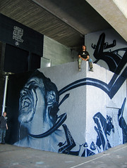 cure yourself with paint (H.veng.Smith) Tags: germany graffiti koblenz ecb loomit