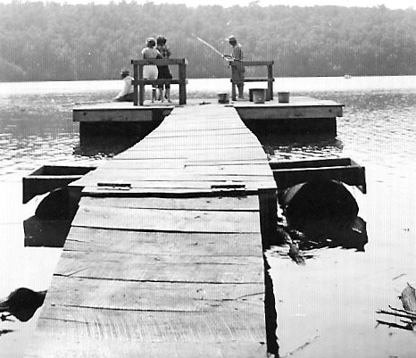 UNCLES'S DIAMOND RING WAS LOST ON END OF THIS PIER IN 1950