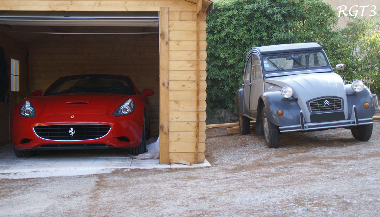Ferrari California & Citröen 2
