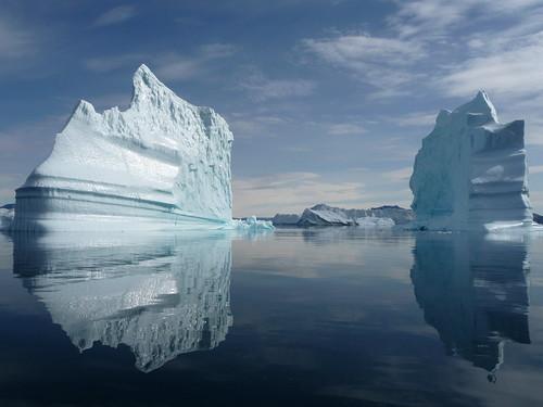 [Two icebergs.]