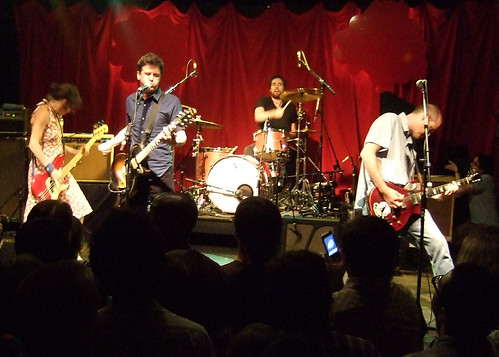 Superchunk perform at XXMerge, photo courtesy of Brad Searles