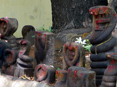 Naga Shrine, Kumbakonam (ArnisD) Tags: india tamilnadu kumbakonam