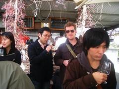 In this photo: Nick John, Atsushi Ono