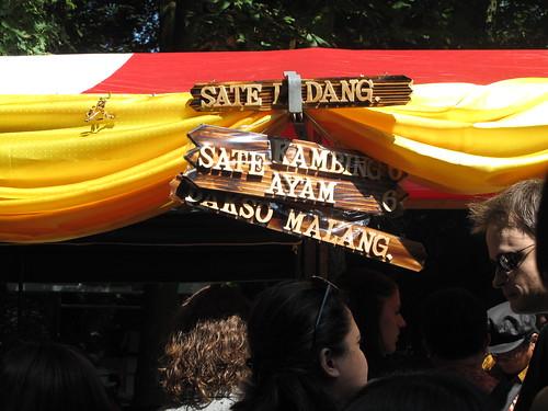 Saté signs