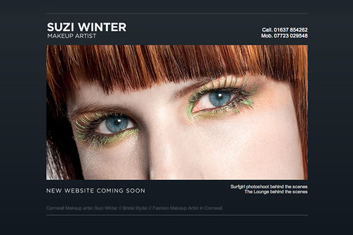 Makeup Artist in Cornwall Suzi Winter