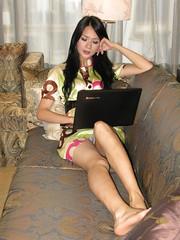 sexy girl on sofa (zikay's photography(no PS)) Tags: girl beauty model  colorphotoaward