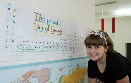 with her periodic table