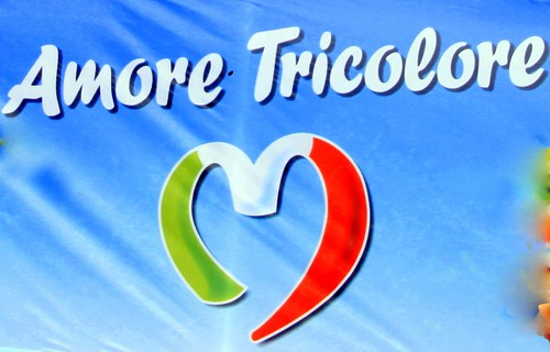 amore italia. Amore Tricolore - Italia