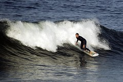 Surfing (cseward) Tags: ocean water geotagged surf waves surfing surfers crashing crashingwave