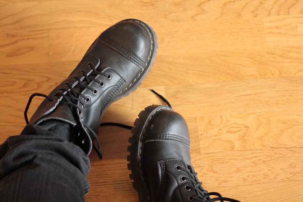 Airseal Para Boots (eeviko) Tags  uk brown black boot vegan floor boots para e699c6b0de