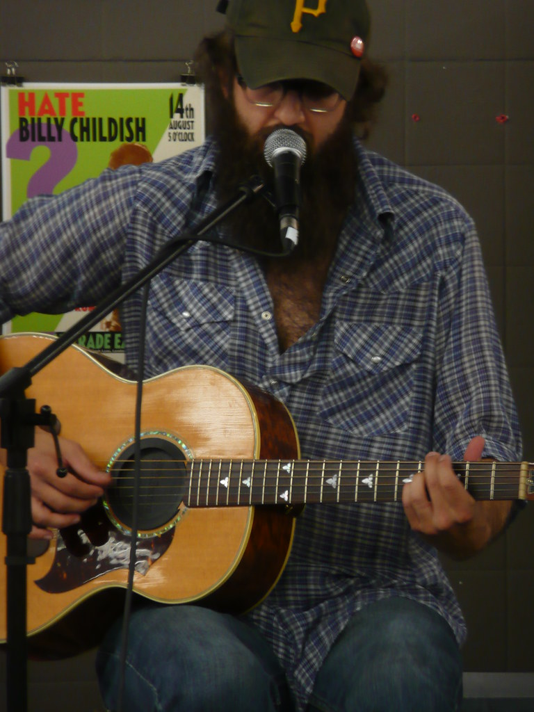August 18, 2009: William Fitzsimmons @ Rough Trade East