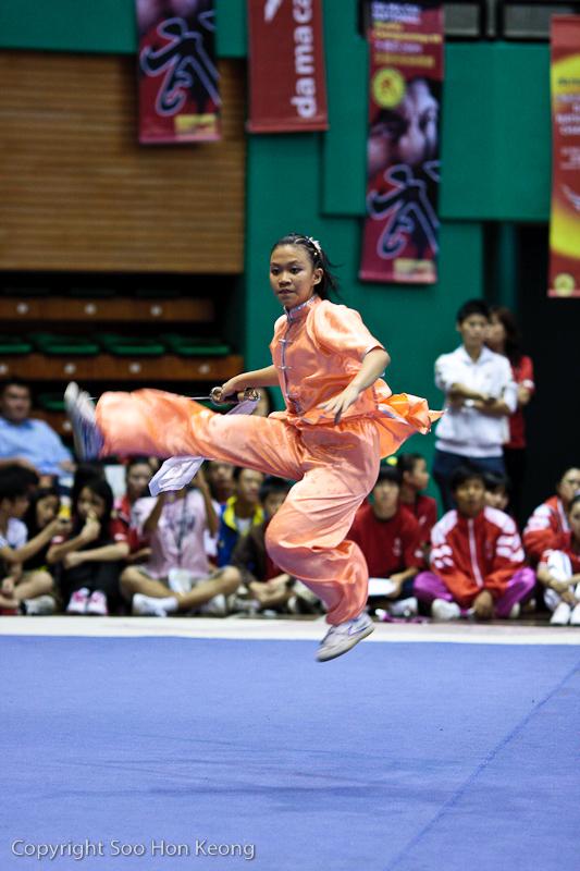 Wushu Competition (Side Kick) @ KL, Malaysia