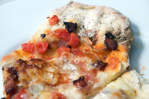 bacon pizza gasgrill