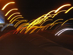 IMG_5571 (don pedro 93) Tags: light night motorway august 2009 fromthecar journeythere carheadlights drawingwithlight thejourneythere