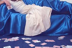 bench Monday: The man who sold the world (Cat Johnson) Tags: blue nikon crossdressing d200 crossdresser collaboration davidbowie playingcards hbm nikond200 themanwhosoldtheworld benchmonday jameswasaverygamemodel notejamesisnotacrossdresserjustcrossatbeingaskedtowearadress andireallyappreciatehimwearinggirlsclothesandalsotryingtostuffhislargefeetintomysmallshoes itssomucheasiertogetjamesinvolvedinphotosthantodoitonmyownhemoanslesswhenhehasaroletoplay