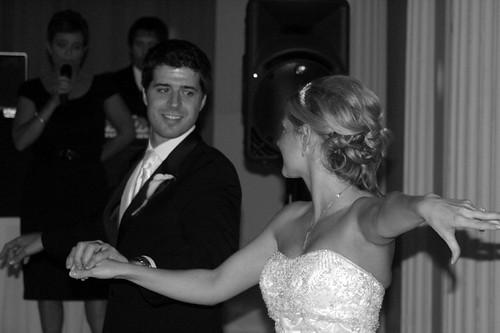 the first dance (fancy hands!)