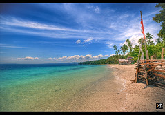 Samal Unlimited ([ Rodelicious ]) Tags: ocean trip travel blue trees light sea vacation sky plants sun plant seascape color colour tree art beach nature beautiful beauty smile clouds contrast photoshop canon landscape geotagged photography photo interestingness rocks exposure dof photos philippines resort explore pk canoneos hdr highdynamicrange davao hdri blending waterscape rodel sigma1020mm mabuhay samal photomatix kadayawan tonemap colorphotoaward aplusphoto pinoykodakero colourartaward perfectescapes rodelicious vosplusbellesphotos ifolio garbongbisaya rodeljoselitomanabat gettyimagesphilippinesq1 gettyimagesasia gettyimagesphilippines