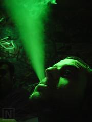 (Nestor@INEDITT) Tags: portrait graffiti cigarette smoke smoking graffitti humo discolight cigarrillo fumando rtrato