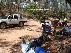 Tuckertime Finniss River (kezzajohnson) Tags: creek river waterfall surprise np reynolds litchfield tolmer xr400 wr450f dr650 finniss te510